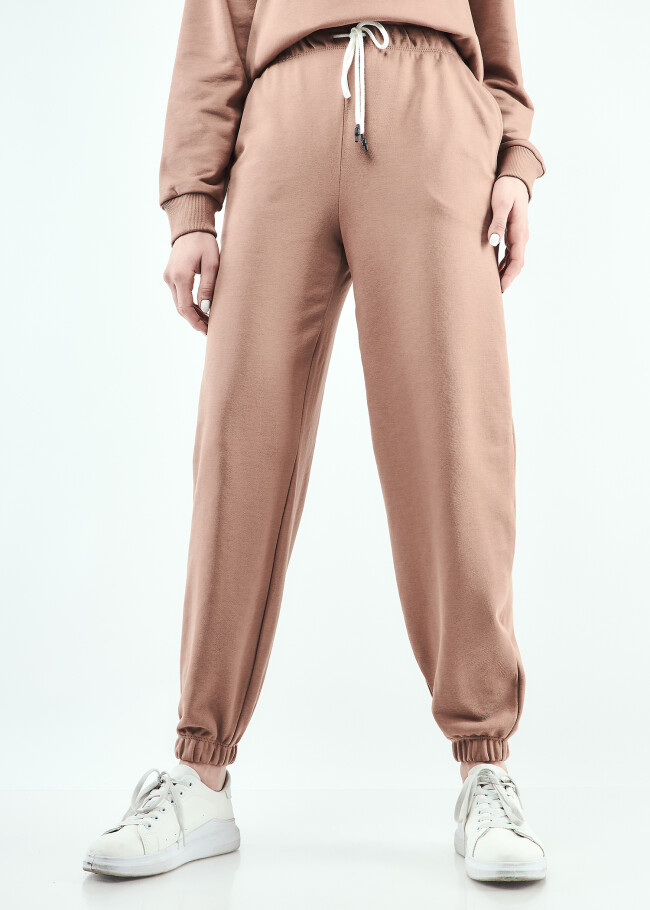 Костюм світшот оверсайз з розрізами та штани-джогери