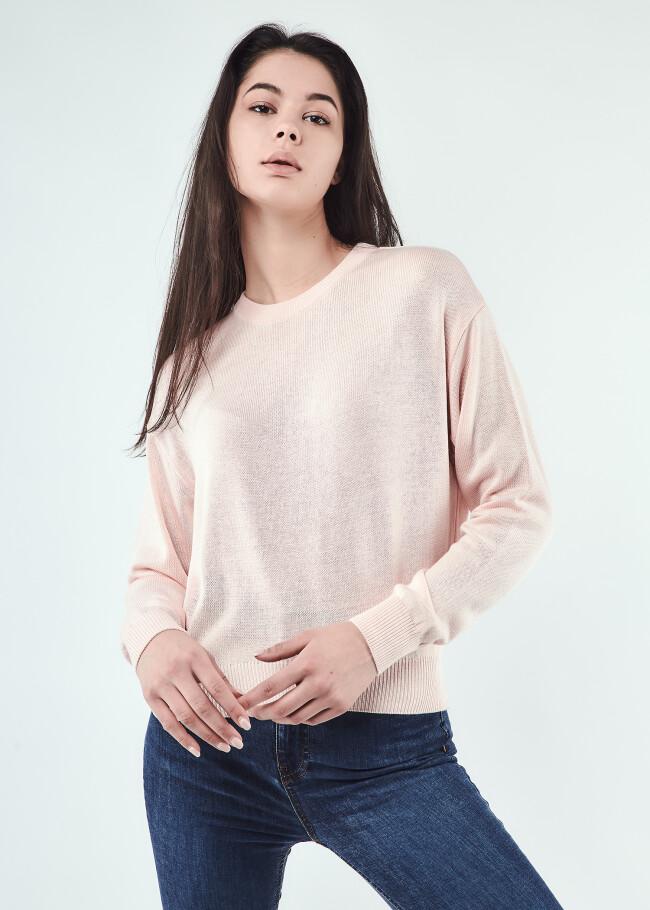 Базовий трикотажний светр