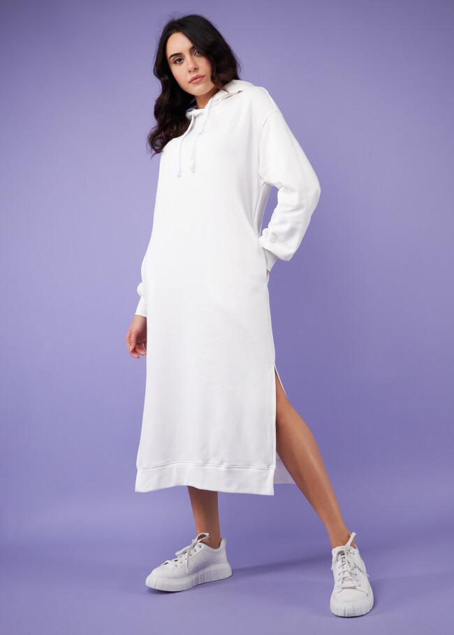 Сукня-худі з капюшоном.