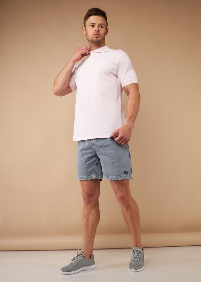Шорти вільного крою зі шнурком та кишенею