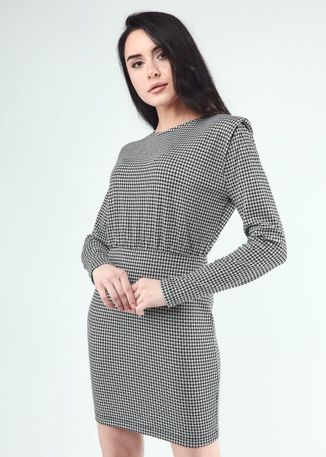 Сукня міні з плечевими накладками