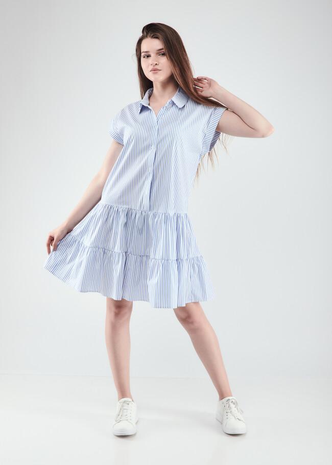Сукня з перламутровими гудзиками