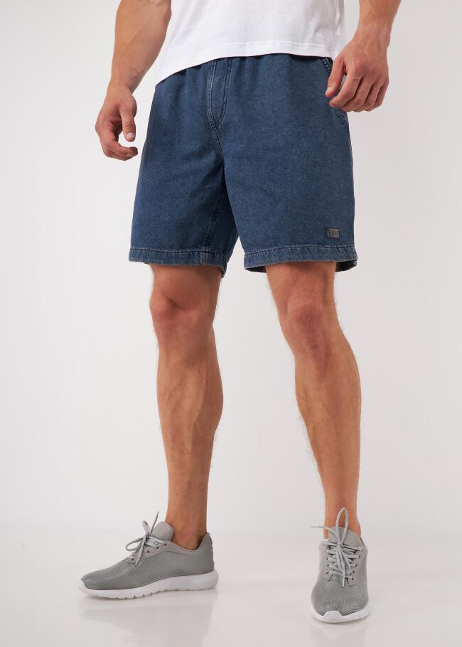 Шорти вільного крою зі шнурком і кишенею