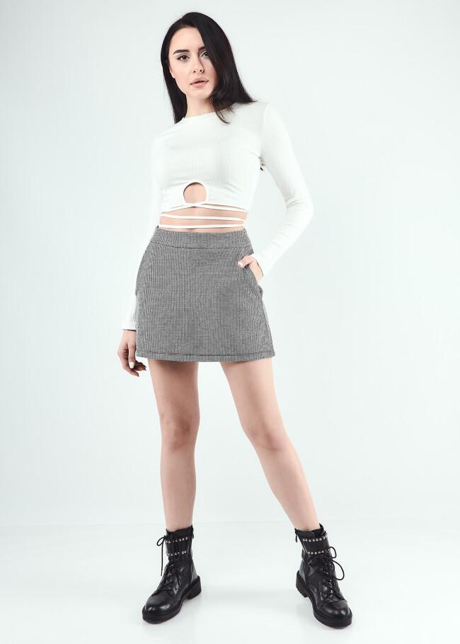 Спідниця-шорти міні