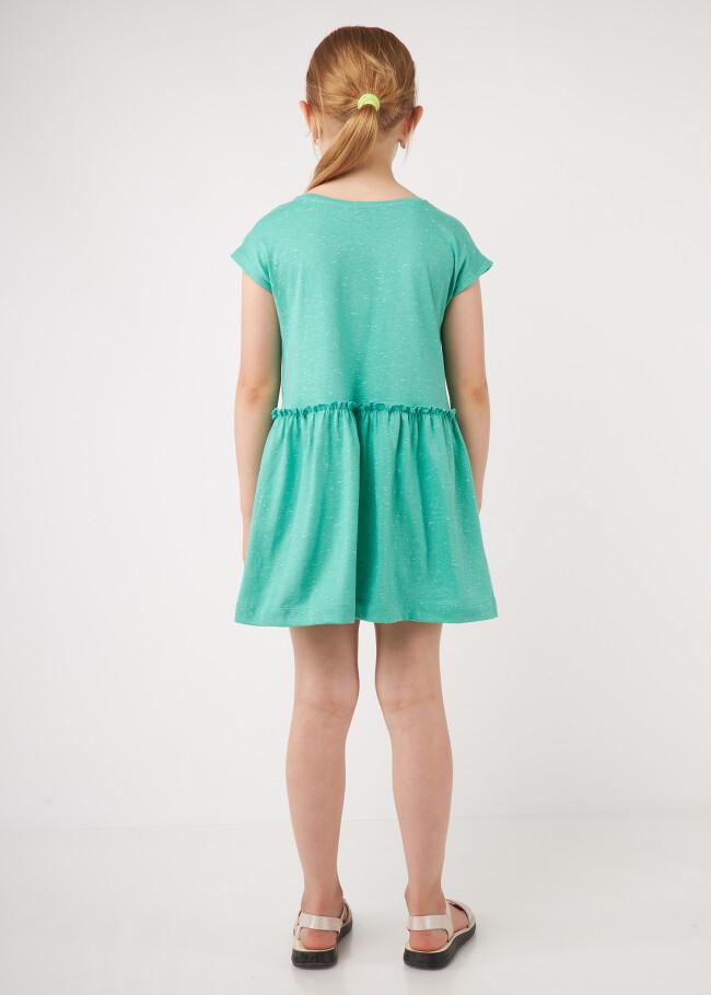 Сукня з рюшиком