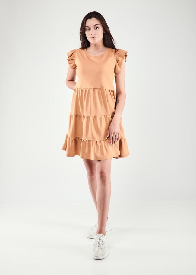Сукня з воланами