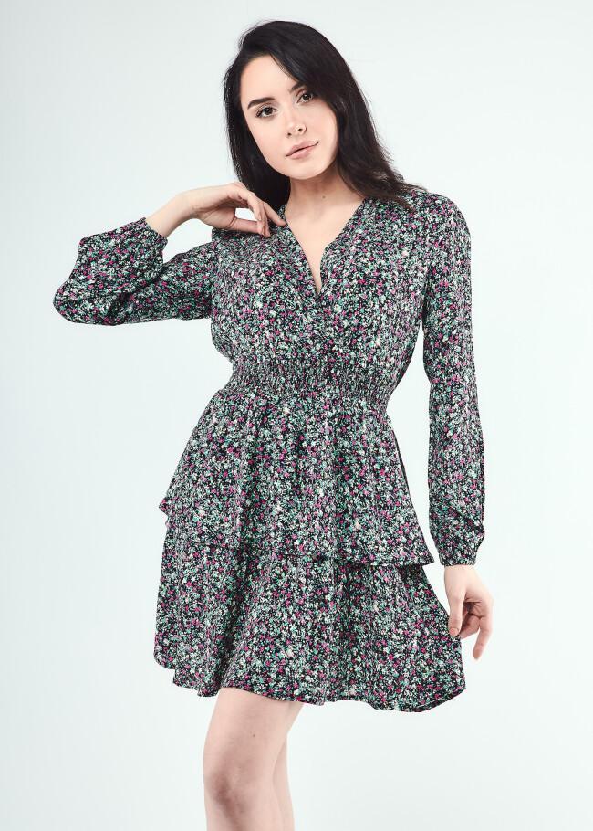 Сукня з V- образним вирізом