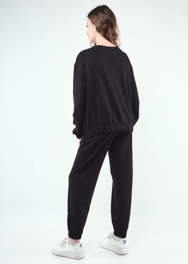 Костюм двійка штани+світшот кругле горло