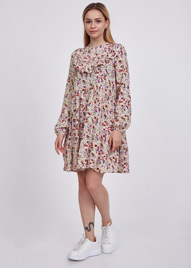 Сукня з рюшами