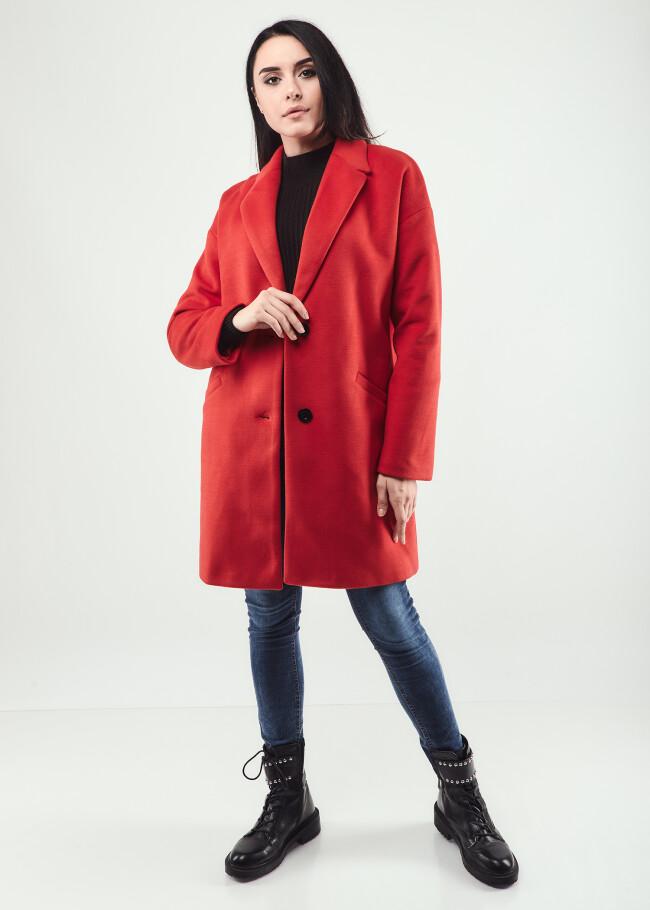 Пальто з лацкан