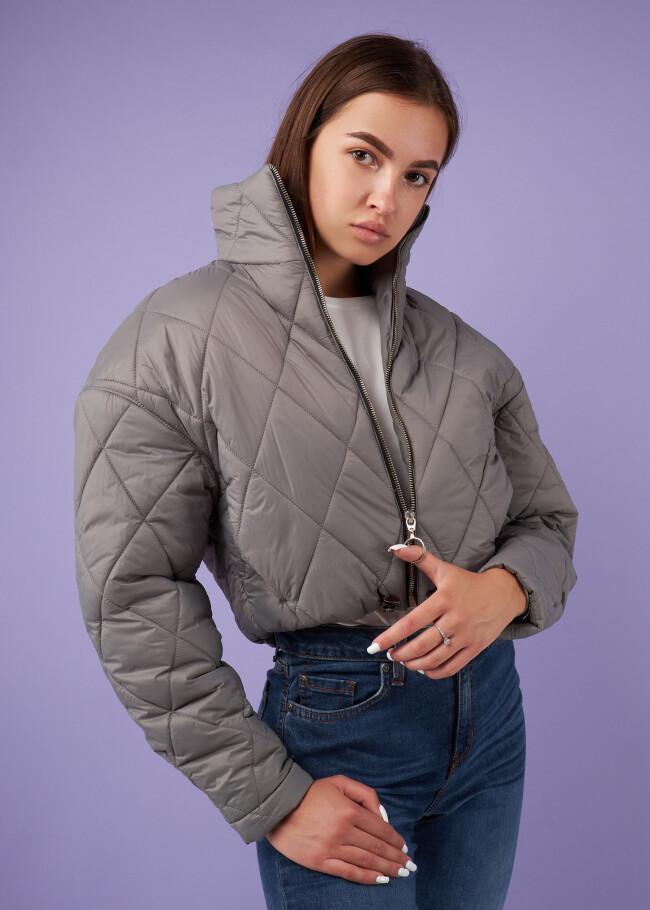 Куртка з горловиною стійкою