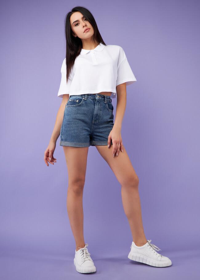 Шорти джинсові.