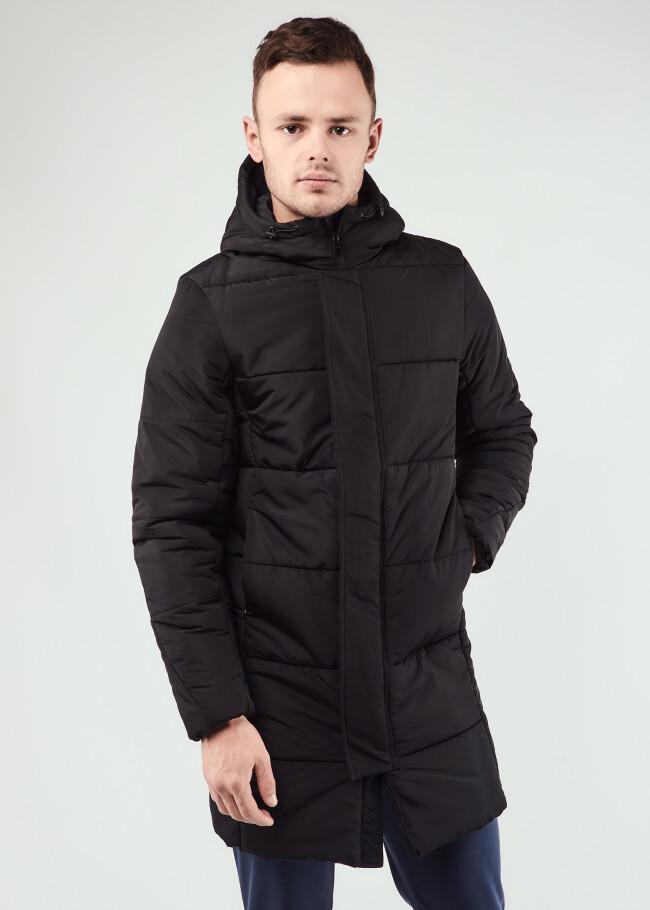 Куртка довга з капюшоном