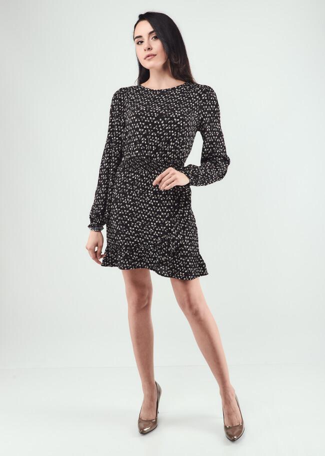 Сукня з воланам
